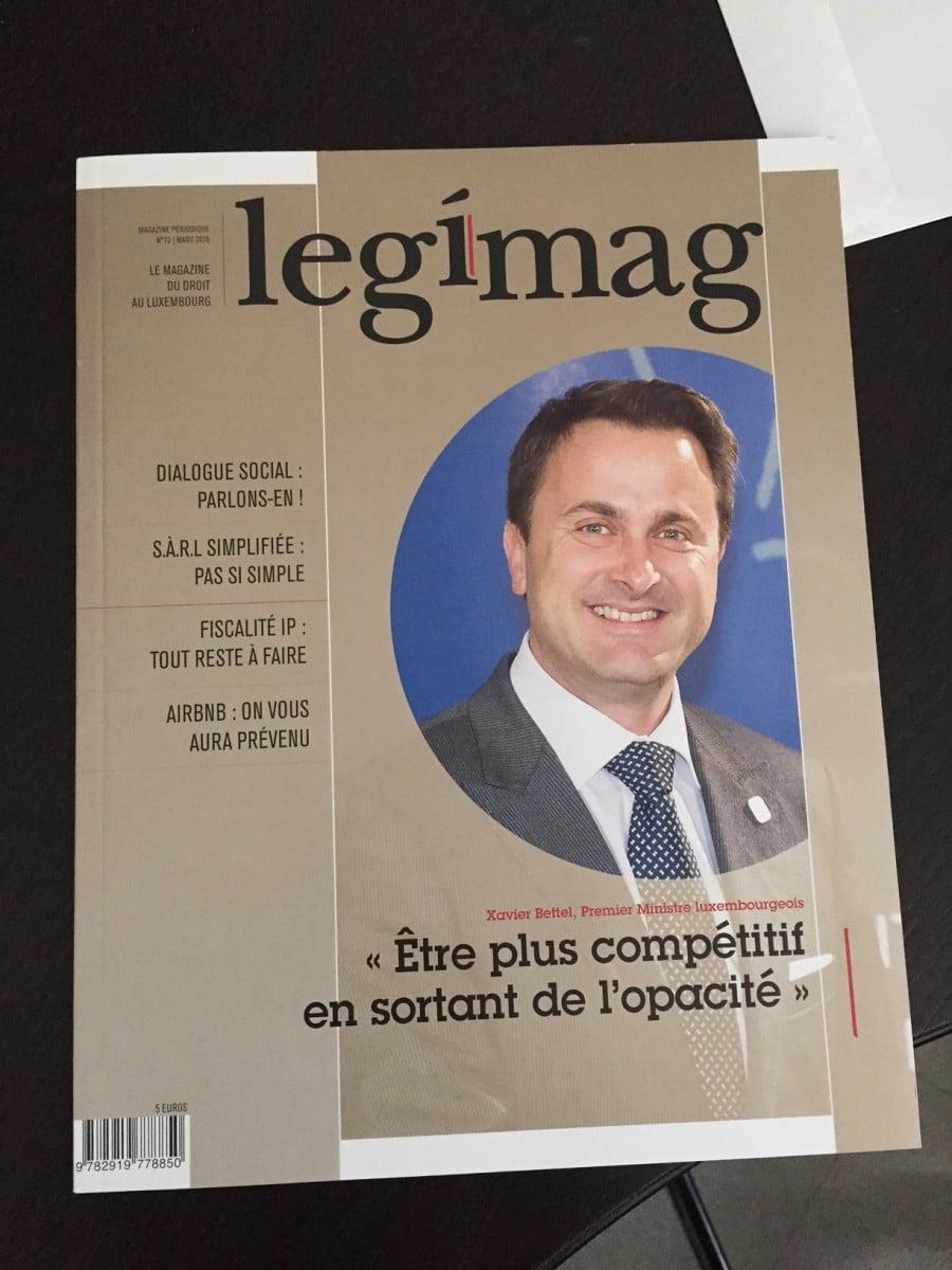 Legimag Journaliste Luxembourg