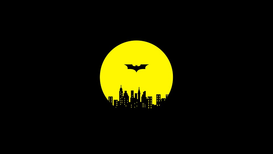 Night Guardian Yellow Batman Gotham City Darknight